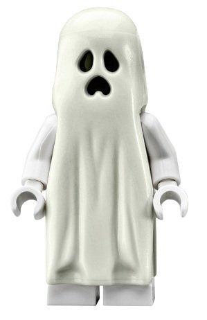 LEGOMonster Fighters Ghost (Glow in the Dark) - Mini figura TOY (manual en inglés)