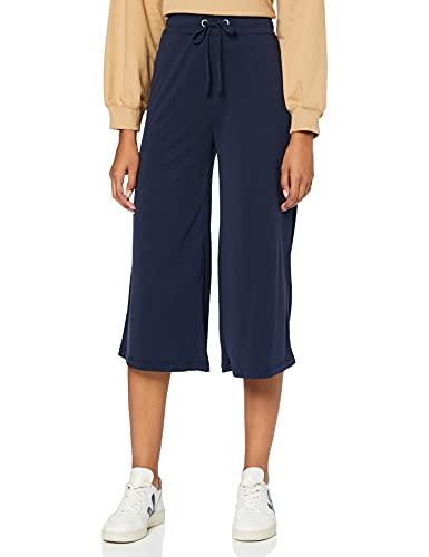 find. Wide Leg Pantaloni Donna, Blu (Navy), 42 (Taglia Produttore: Small)