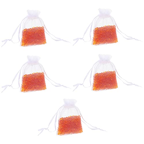 EXCEART Gel di Silice Essiccante Pacchetto 5Pcs di umidità Assorbitore Deumidificatore Deumidificatore Sacchetto di Chitarra Pianoforte di umidità di Controllo Accessori per Strumenti