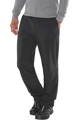 Marmot Scrambler Pant Pantalon de randonnée Softshell, Pantalon Outdoor Homme, déperlant, Respirant Femme Black FR : XL (Taille Fabricant : XL)