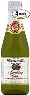 Martinelli's Gold Medal Sparkling Cider, 8.4 OZ Jar (Pack of 4, Total of 33.6 Oz)