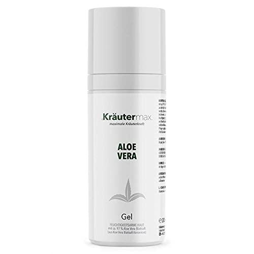 Gel d'Aloe Vera Pure Cosmétique Naturelle Pure Sans Additifs 97% 1 x 200ml