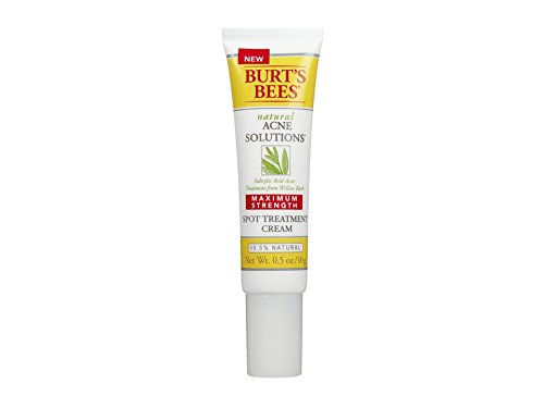 Acne treatment products Burt's Bees Natural Acne Solutions Maximum Strength Spot Treatment Cream 0.5