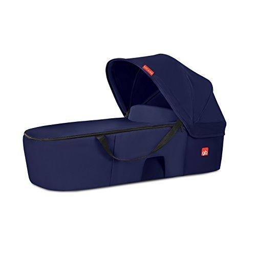 gb Gold Nacelle Cot to Go, Pour Poussette gb Qbit+ et Pockit+, Sapphire Blue