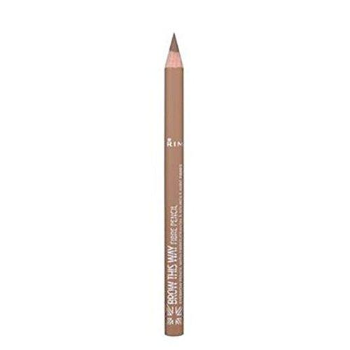 Rimmel London Brow This Way Fibre Pencil Lápiz de Cejas Tono 1 - 1.08 gr