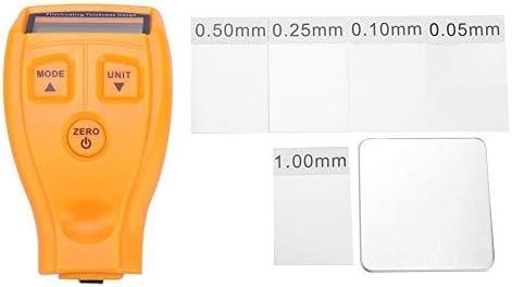 jauge de Mesure 1 PC de Mini-testeur de Peinture de Voiture LCD Portable d/étecteur d/épaisseur de rev/êtement num/érique Jaune MAGT Jauges d/épaisseur de rev/êtement