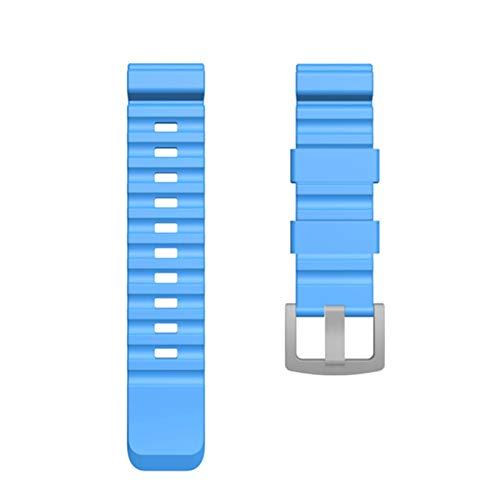 TGGFA 24mm Colorido Banda de Reloj para Reloj de Borde Norte Reloj de Reloj Inteligente Activo para Samsung Galaxy Watch para Huawei Watch Reemplazo de Nueva Correa