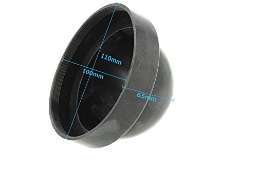 Capuchon de protection de phare en caoutchouc de 100 mm pour transformation au xénon caché et kit LED complet