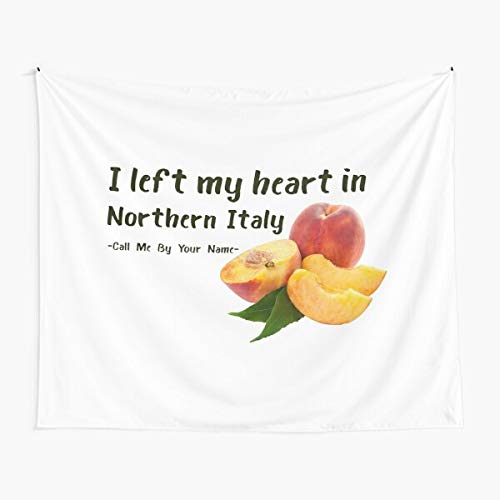 I Left My Heart in Northern Italy Cmbyn Tapestry Wall Art Tapestries for Dorms Bedroom Living Room Colorful Décor