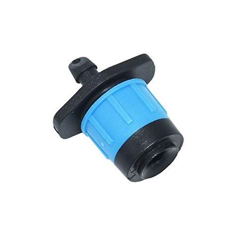 MINGMIN-DZ Dauerhaft Einstellbare Wasser-Düse Dripper mit Dichtung Scattering Sprinkler 360 Grad Bewässerung Garten Landwirtschaft Bewässerung Werkzeug 120pcs