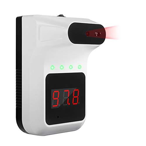 SHARRA Termómetro sin Contacto, termómetro clínico infrarrojo de Pared Termómetro infrarrojo Digital Dispositivo de medición de Temperatura para oficinas, restaurantes, escuelas