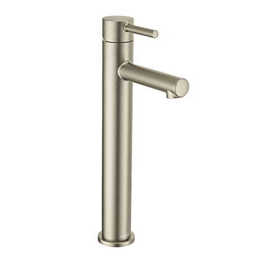 Moen 6192BN Align One-Handle Single Hole Modern Vessel Sink Bathroom Faucet