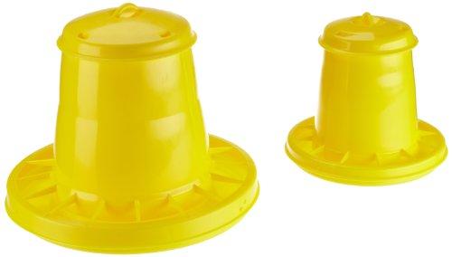Mangiatoia tramoggia in plastica per pulcini diametro...