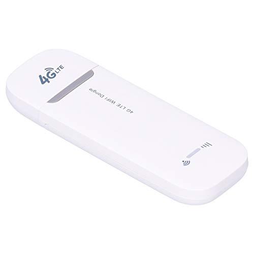 T opiky Adaptador WiFi USB, Dongle WiFi 4G LTE Enrutador de Punto de Acceso inalámbrico Módem de Red USB con Ranura para Tarjeta SIM para teléfono, Tableta, computadora, computadora portátil