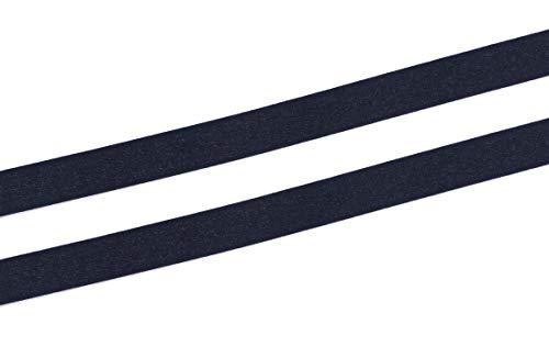 YYCRAFT 3/8 Inch 10mm Bra Strap Elastic Band Trim Elastic Ribbon Craft Sewing(20 Yards,Black)