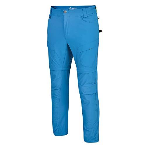 Dare 2B Tuned in II Zip off Water Repellent Hiking Outdoor, Pantaloni Uomo, Petrol Blue, 32 Pollici