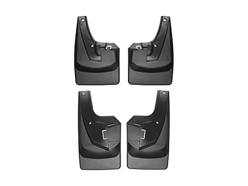 WeatherTech No-Drill MudFlaps for Dodge Ram Truck 2500/3500 - Front & Rear Set (110108-120108)
