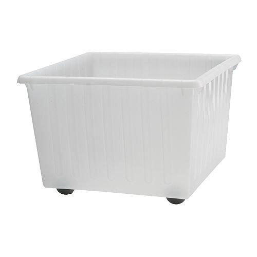 IKEA VESSLA -Lagerkistemit Rollen weiß - 39x39 cm
