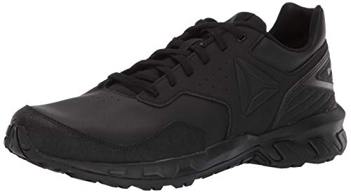 Reebok Herren Ridgerider 4.0 Leather Wanderschuh, Black/True Grey, 42.5 EU