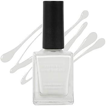 MINISO Pittura Nail Polishes Long Lasting Nail Paint (04Pure White)