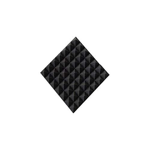 1x Akustikschaumstoff Mini\'s ca. 25x25x5cm anth/schwarz, normal, Schaumstoff Noppenschaumstoff