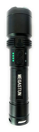 MEGASTUN Super Lightning Stun Gun Flashlight