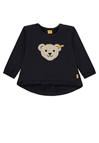 Steiff Steiff Baby-Mädchen 1/1 Arm Sweatshirt, Blau (Marine|Blue 3032), 68