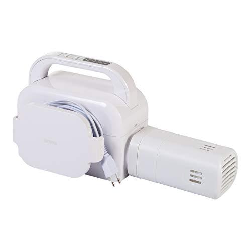 Iris Ohyama, calentador eléctrico de la cama / calentador eléctrico del colchón con el contador de tiempo - Bed Warmer - BW-C1, 490W, blanco