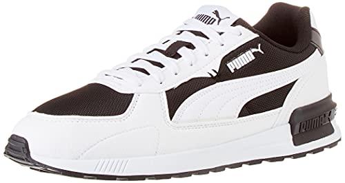 Puma Graviton, Zapatillas Deportivas Unisex Adulto, Black White-Nimb, 44.5 EU