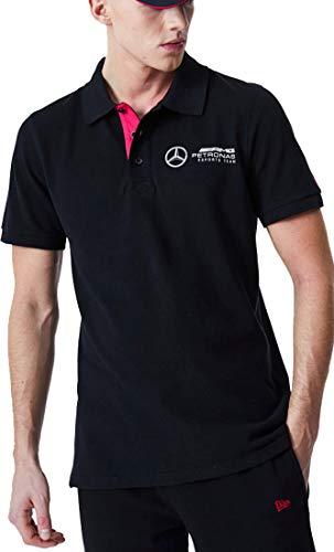 New Era Mercedes AMG Petronas E-Sports Poloshirt Gr. M, Schwarz