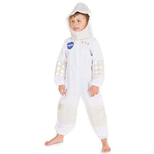 Jungen Kinder Astronaut NASA Fach Mann Anzug Halloween Kostüm 5-7 Jahre