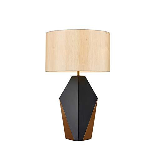 WSJQWHW Nueva lámpara de Mesa China lámpara de Mesa geométrica polígono Creativo Arte diseñador Modelo Sala decoración decoración Dormitorio mesita de Noche lámpara