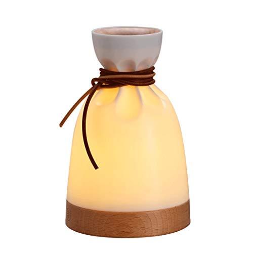 GXJ Aroma Diffuser Ultraschall-Ätherisches Öl-Spray Luftbefeuchter Schlafmittel Stille Nacht Licht for Schlafzimmer Wohnzimmer Plug-in