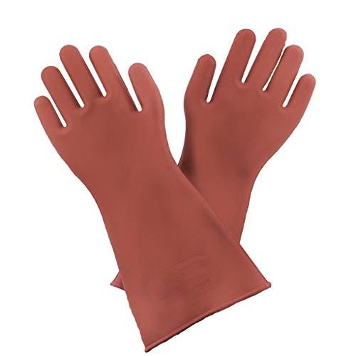 perfeclan 1 Paar Premium Elektrohandschuhe Isolierter Handschuh für Elektriker