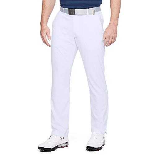 Under Armour Men's Showdown Golf Pants, White, 32/30