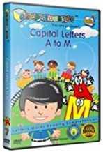 #1 Preschool Learning DVD Series : Snapatoonies - Episode 7: Capital Letters a to M :: Bridging the Word Gap - Early Language Development System - Rich Vocabulary and Positive Reinforcement for Baby, Toddler and Children Under 5 - Award Winning Educational DVD - 23 Minute Lightly Animated with Mixed Media Covers Letters, Reading, Vocabulary and Comprehension. Great Resources for 1, 2, and 3 Year Old Kids.
