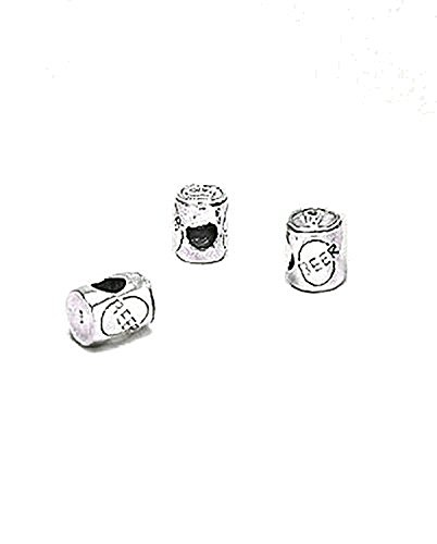 Charm a forma di lattina di birra (Simpsons) in argento Sterling, compatibile con braccialetti europei