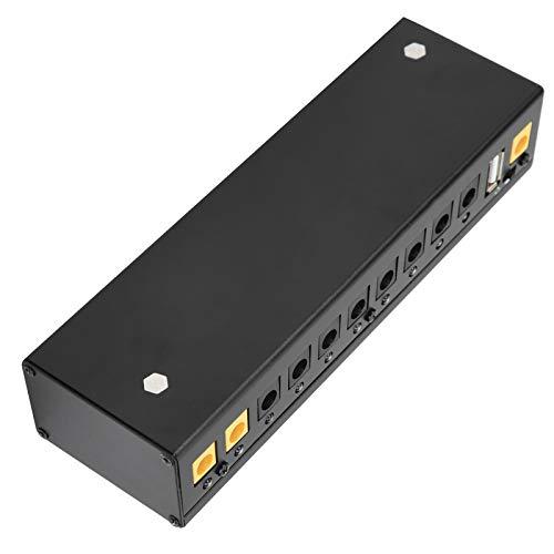 Fuente de alimentación de pedal de guitarra eléctrica con un puerto USB Pedal Board Power, para(regulaciones británicas (100-240V))