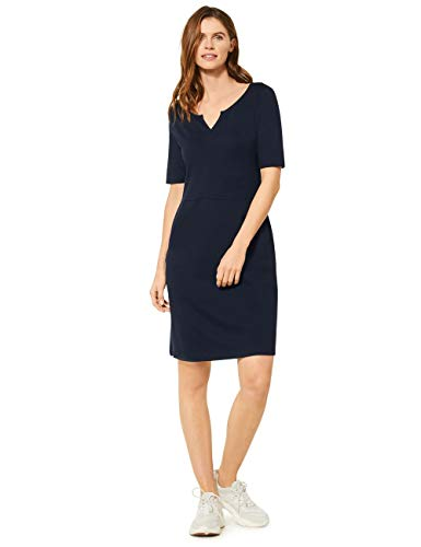 Cecil Damen 142620 Kleid, deep Blue, X-Large