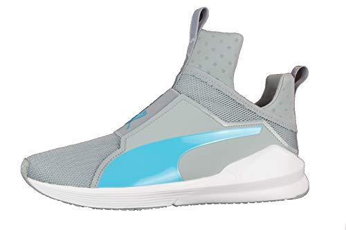 PUMA Fierce Core Damen Schuhe Sport Sneaker (40.5 EU, Quarry-Blue Atoll)