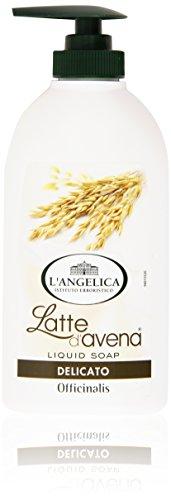 L Angelica - Latte D Avena, Sapone Liquido Delicato - 300 Ml