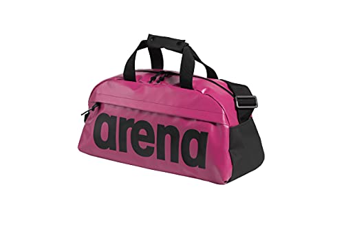 ARENA Team Duffle 25 Big Logo, Borsone Unisex Adulto, Pink, Rosa