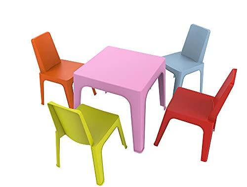 Sillas y mesas infantiles de plástico