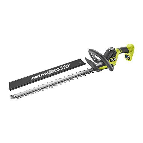 RYOBI 18V Cordless 55cm Hedge Trimmer (Bare Tool) RY18HT55A-0 ONE+ Heckenschere, 18 V, kabellos, 55 cm