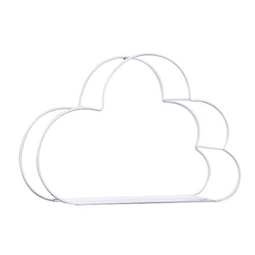 EisEyen Hierro Forjado Nube Forma Pared Colgante hogar
