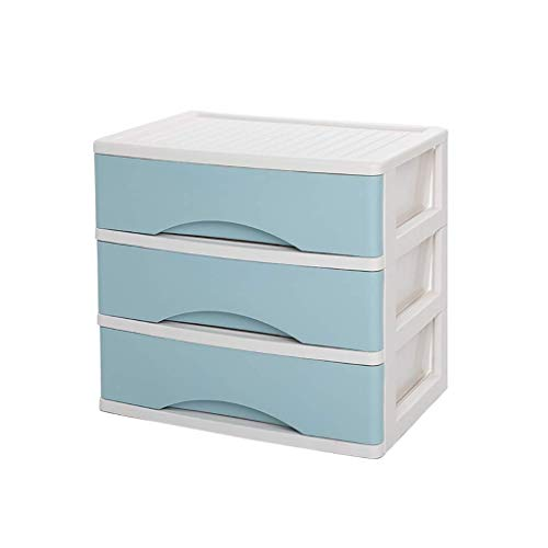 Yhtech 3 capas de cajón Organizadores y divisores for el dormitorio, oficina plástico cajones cajón multifunción Estilo Acabado Marco Dresser cosmética Periódico Bastidores (Color: B1) Archivos para o