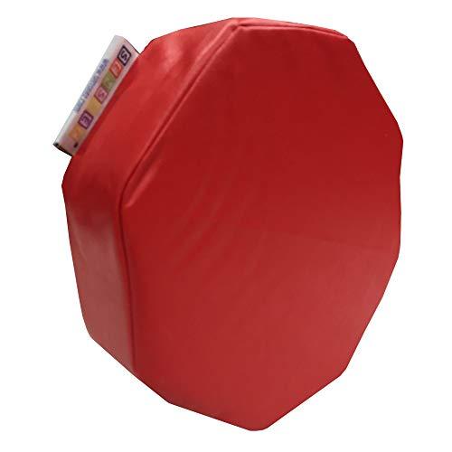 Senseez SENZ58735 Kissen, achteckig, Rot