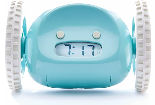 Product Image of the Clocky Alarm Clock on Wheels (Original) | Extra Loud for Heavy Sleeper (Adult or...
