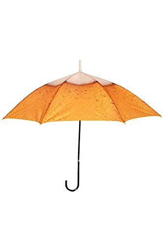 Paraplu met bierprint stokscherm kostuum accessoires JGA vrijgezellenfeest