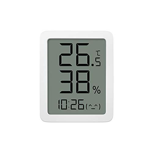 Homidy digitales Thermometer Hygrometer Innen 3.5″ HD Großbildschirm Feuchtigkeitsmessgerät Hochpräzise Temperatursensor 24H Max/Min Aufzeichnung und Uhrzeit-Feuchtigkeitsmesser